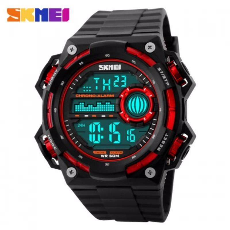 SKMEI 1115 Outdoor Sport Men Man Adult Watch(Red) Malaysia