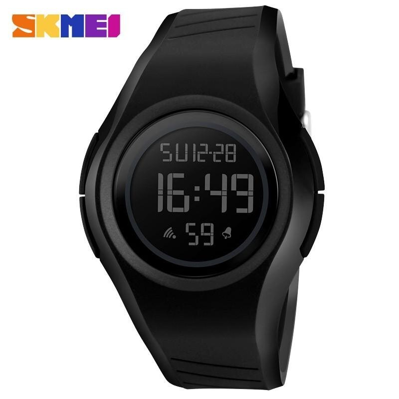 SKMEI 1269 Men and Women General Outdoor Sports Electronic Watches Black Malaysia