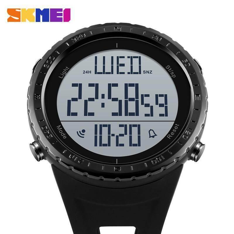 SKMEI Mens Watch waterproof electronic sports Multifunctiona watch 1310 -Black Malaysia