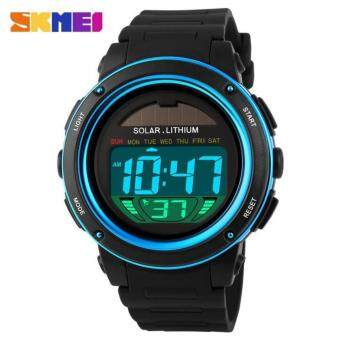 SKMEI Solar Power Watch Men Sport Watches Digital Masculino Waterproof Wrist Watch Relojes Homme