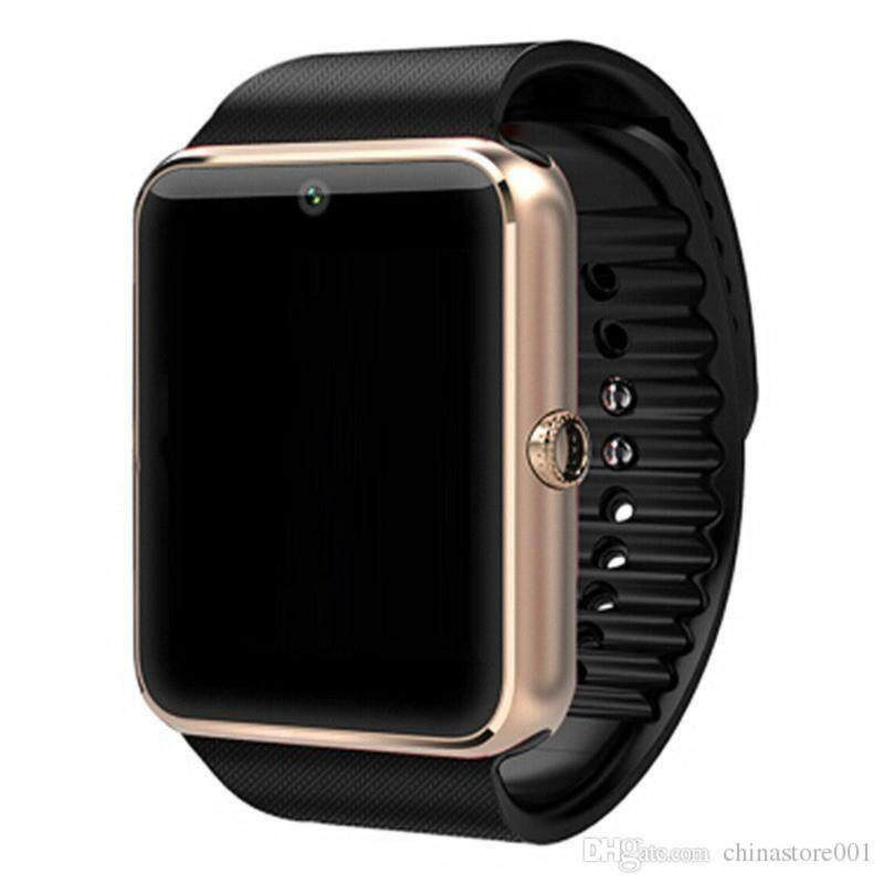 Smart Watch GT08 Plus Clock Bluetooth Connectivity Android PhoneSync Notifier Support Sim TF Card MP3 Metal Watch Smartwatch Gold Malaysia