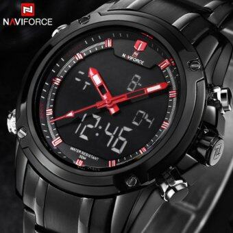 Harga Sport Clock Men's Quartz Wrist Watch Military Watch For Men Full Steel Men Watches