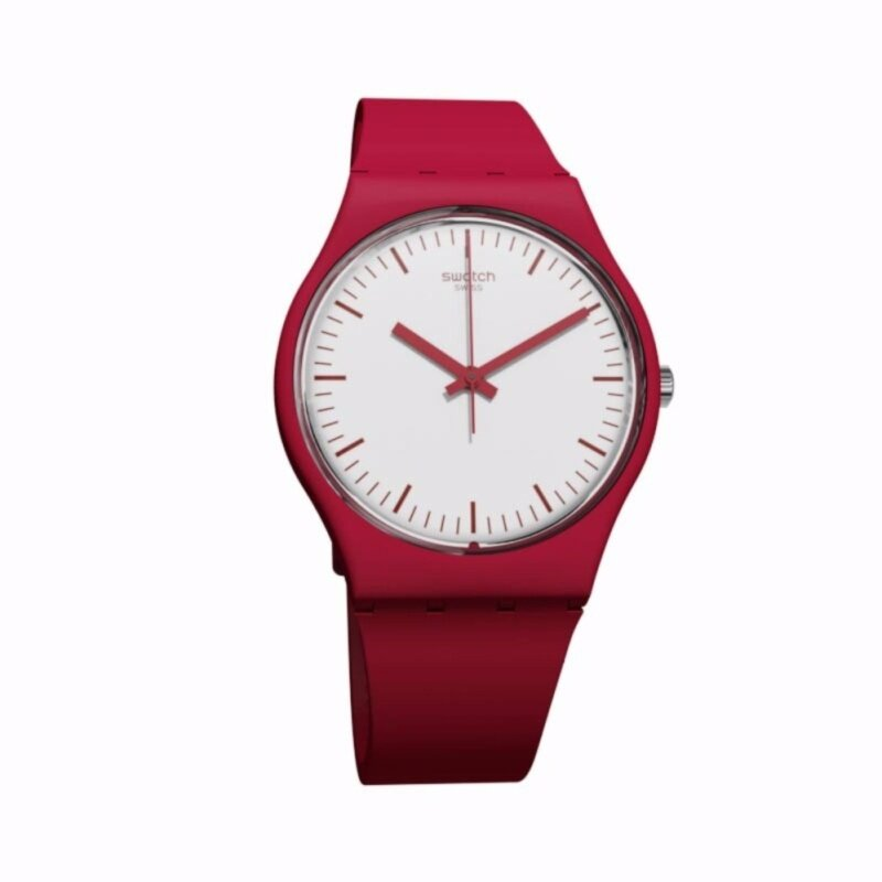 SWATCH Puntarossa White Dial Ladies Silicone Watch GR172 Malaysia