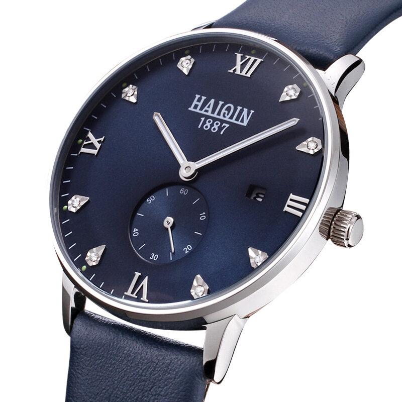 The mens watch authentic hedge quartz watch belt, waterproof luminous ultra-thin fashion leisure students Malaysia