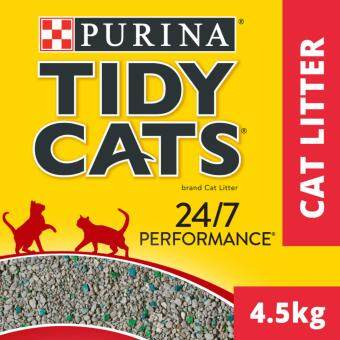 TIDY CATS(R) 24/7 Performance Non-Clumping Cat Litter Pack (1 Pack of 4.5kg)