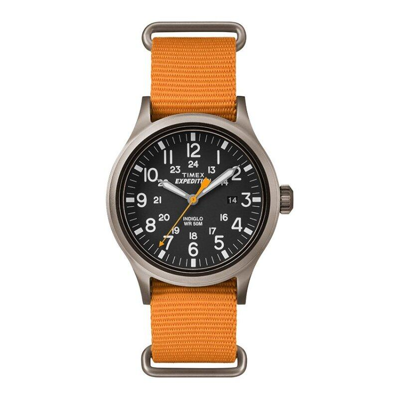 Timex Expedition® Scout with Gray Case and Nylon Strap TW4B04600 Malaysia