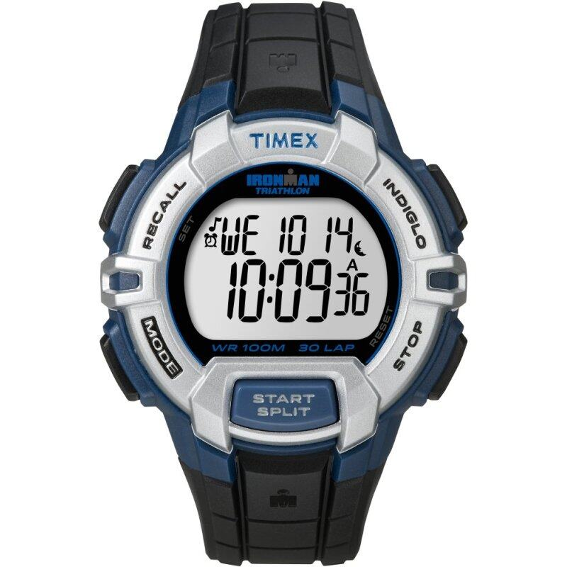 Timex IRONMAN® Rugged 30 Full-Size - Black/Blue Malaysia