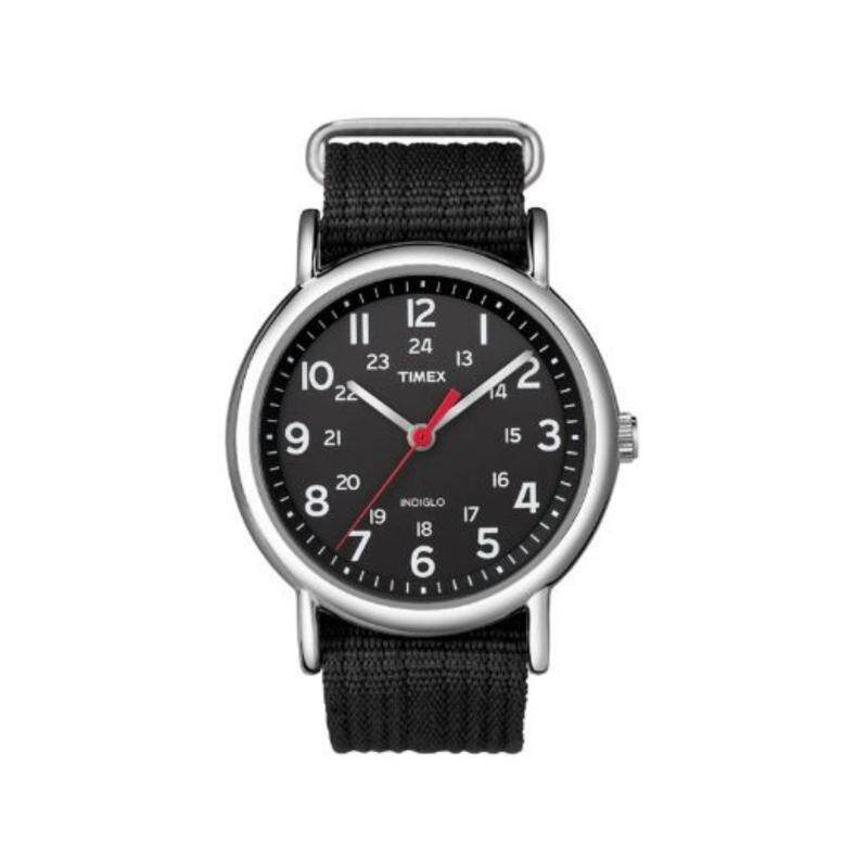 Timex Men T2N647 Weekender™ - Black Nylon Slip Through Strap Watch Malaysia