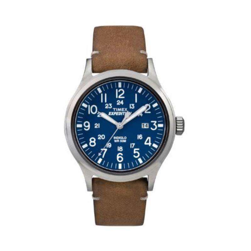 Timex Men TW4B01800 Expedition® Scout  Leather Strap Watch Malaysia