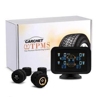 TPMS Tyre Pressure Monitoring Intelligent System+4 External SensorsLCD Sucker