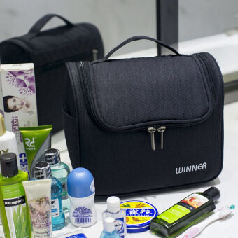 Travel waterproof men s female makeup bag washed bag .