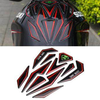 Harga Universal Reflective 3D Motorcycle Sticker Fuel Tank Protector PadCover Decoration Decal for Honda KTM Yamaha Kawasaki Suzuki