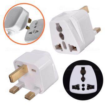 Harga Universal Travel 3PIN Adapter All in One AU US EU to UK AdapterConverter