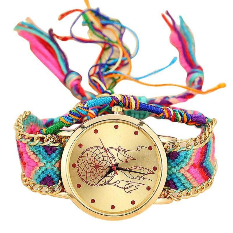 vansvar Handmade Ladies Vintage Quartz Watch Dreamcatcher  Friendship Watches Malaysia