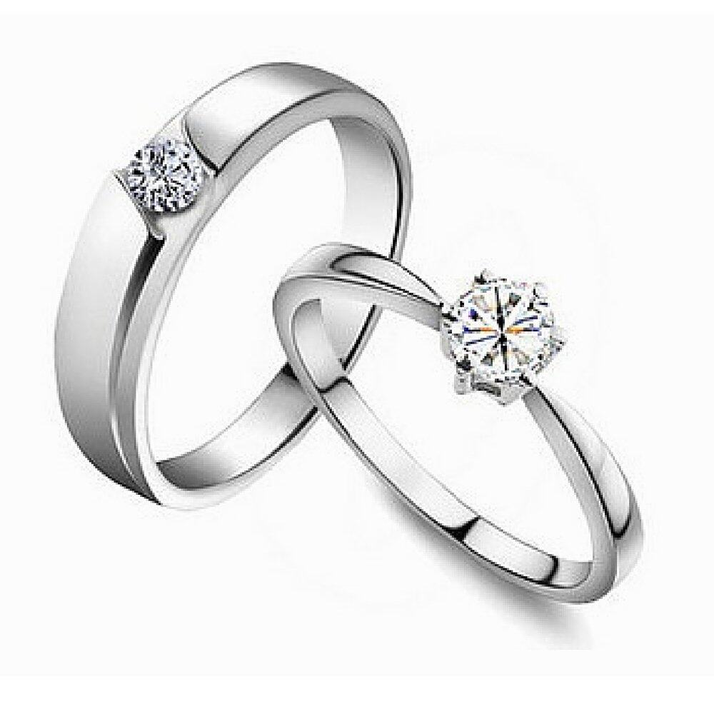 vivere rosse tiamo 18k white gold plated couple rings silver lazada malaysia