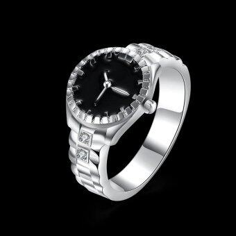 Harga Watch Pattern Plated Copper Ring - Size: 9
