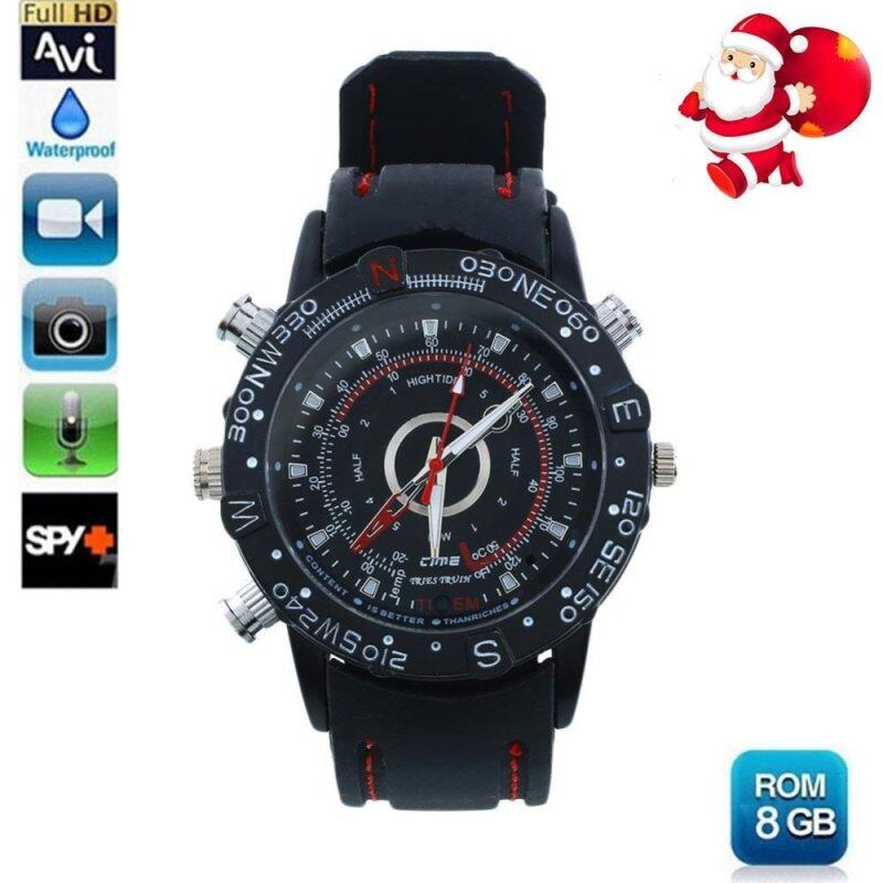 Waterproof DV 1280X1024 Spy Wrist Watch HD Video Recorder Cam Camera DVR 8GB Malaysia