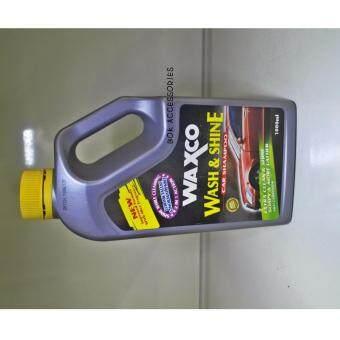 WAXCO WASH AND SHINE CAR SHAMPOO