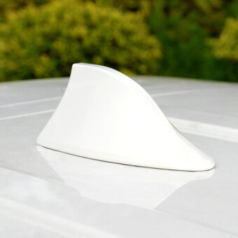 Harga White car With radio shark fin antenna signal shark fin for Kia RioK2 K3 K5 K4 Cerato Soul Forte Sportage R SORENTO Mohave OPTIMA