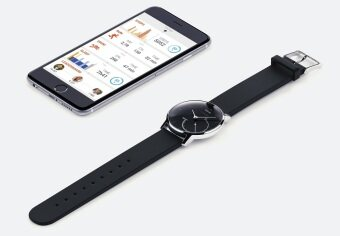 Withings Activite Steel - Activity and Sleep Tracking Watch Black - 3