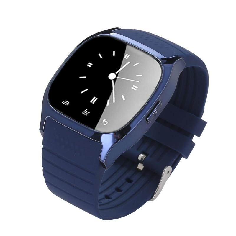 Womdee Bluetooth Smart Wrist Watch Android Mobile Phone Watch, Blue Malaysia