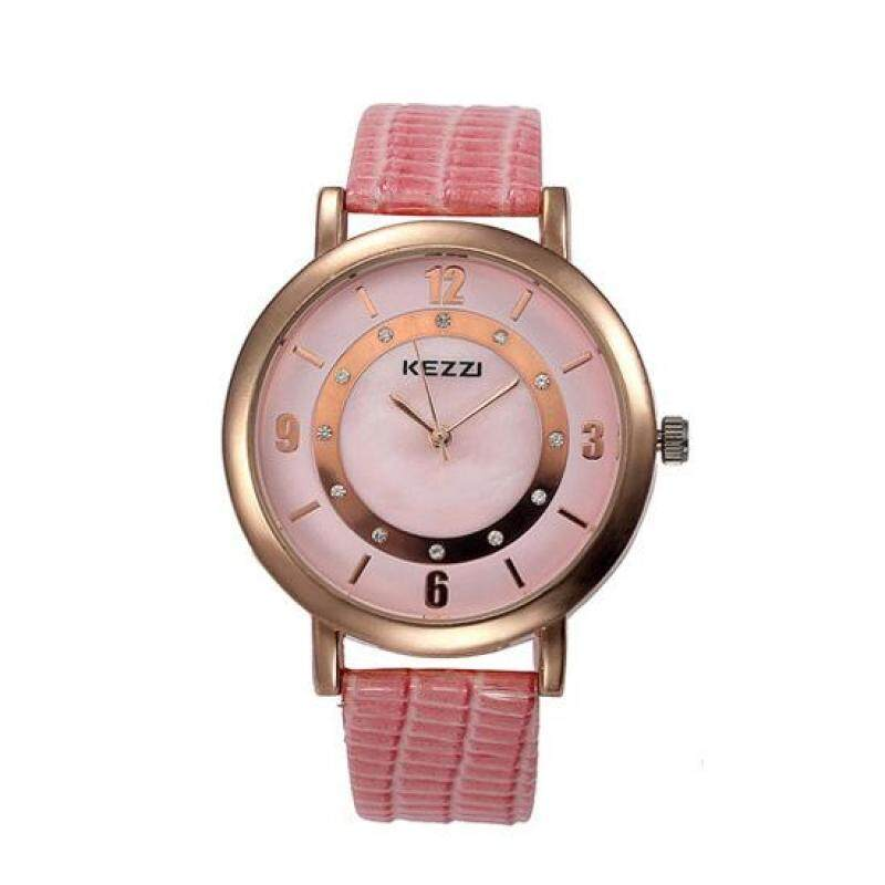Womdee Hongkong KEZZI fashion fashion classic quartz new waterproof watch belt intellectual direct manufacturers (Pink) Malaysia