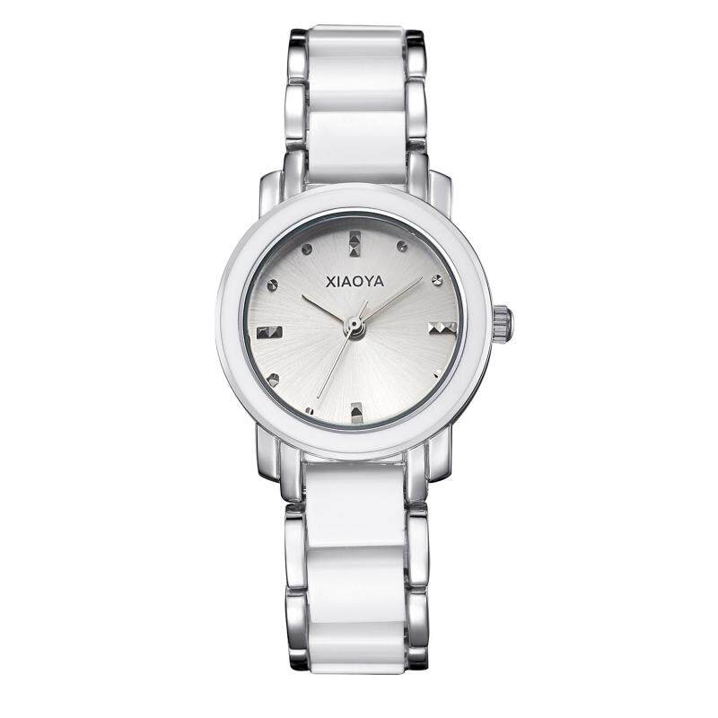 Womdee Miss Han Ban fashion simple ceramic watches High-quality factory direct cost (Silver) Malaysia