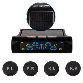 XCSOURCE Solar Wireless TPMS Tyre Tire Pressure Monitor System+4External Sensors MA1075