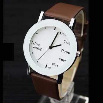YAZOLE Classical Kids Leather Band Fashion Boys Joker Student Sport Quartz Wrist Watch YZL250-A