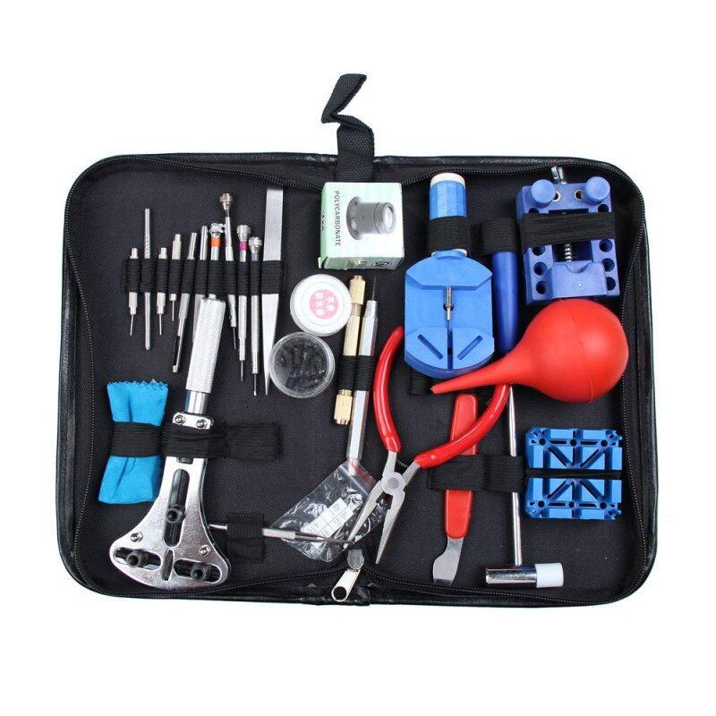 YBC 27pcs Watch Repair Holder Tool Kit Set Pin Screwdriver Link Opener Malaysia